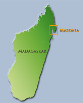 Madagaskar Karte.Madagascar And Masoala